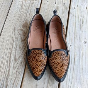 b83b2a11b13 Adrianna Papell Shoes - Adrianna Papell 7.5 Lennox Cheetah Loafers leather